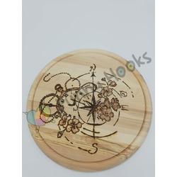 Kompass Schneidebrett