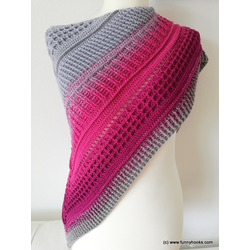 lovely winter shawl   -  ebook