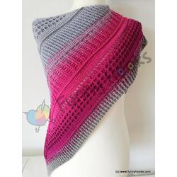 lovely winter shawl   -  ebook